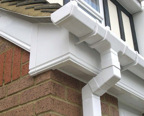 UPVC box end in Chelmsford.