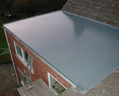 Fibreglass Flat Roof in Chelmsford