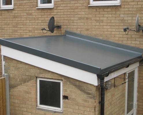 Flat roofing in Chelmsford