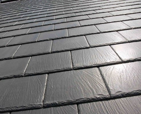 Man made slate roof tiles in Chelmsford.