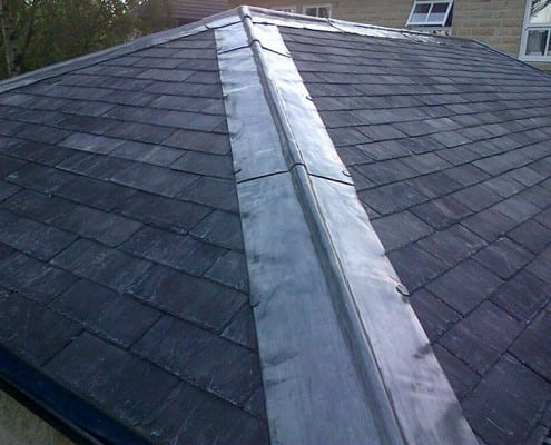Reclaimed slate roof in Chelmsford.