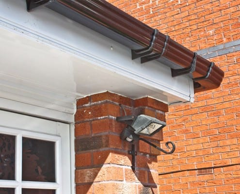 Renewed fascia, soffits and guttering in Chelmsford.